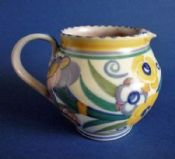 Poole Pottery ED Pattern 316 Jug by Truda Carter c1930